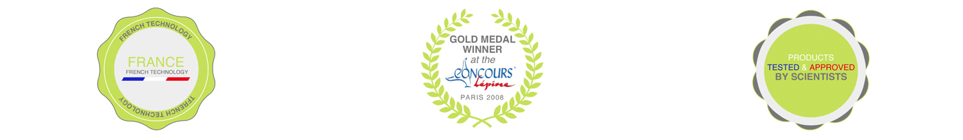 Ginko Control : French technology, Gold Medal winner at the Lépine Competition, Products tested and approved by scientists