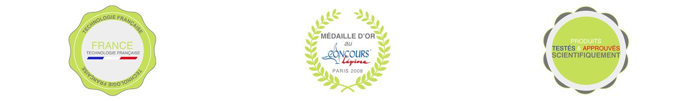 Ginko Control technologie française, médaille d'or au concours de Lépine